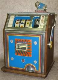 229: Slot Machine, Watling, Blue Seal, Quarter Type, Ea