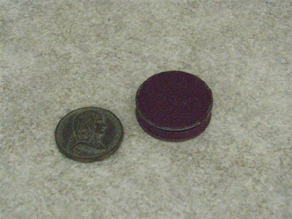 3: Bronze Medallion, French, 19th Century, with Origina