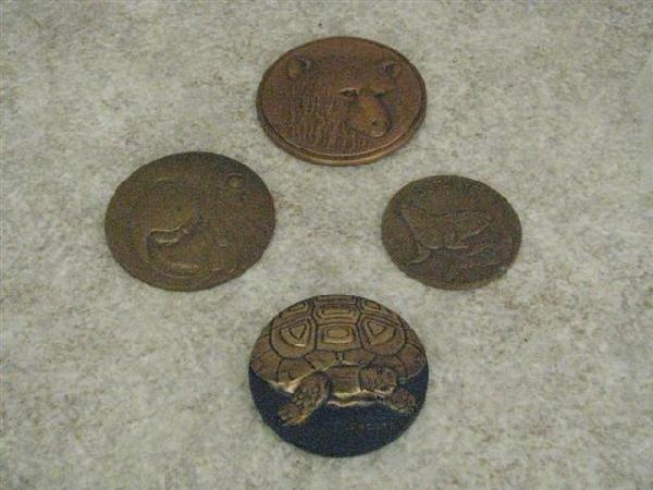 5: LeMonnaie Medallions, 4, Modern, (A) Bronze, 1981 Co