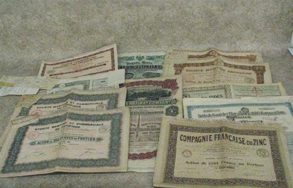 7: Bonds, Pre-WWI, Approx. 100, Mostly European, Some C