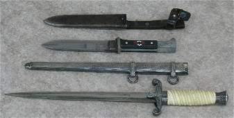 4: German Dagger and Knife, (A) Officer's Dress Dagger,