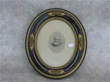 60: Engraving, Robert E. Lee, Image of Lee in Uniform,