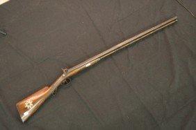 37: Shotgun, English Origin, Double Barrel, 12 Gauge