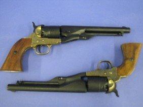 43: Pistols, Model 1860 Colt, Non-Firing Replicas