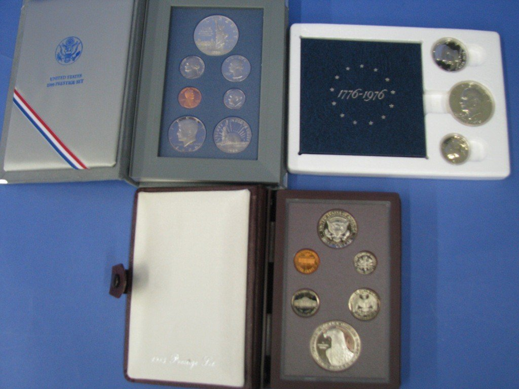 95: Miscellaneous U.S. Coin Sets