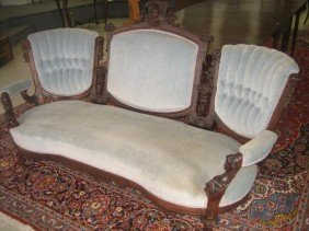 Sofa, Renaissance Revival, Jelliff Attribution
