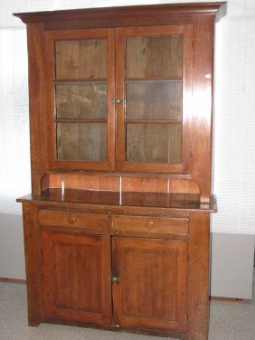 Cupboard, Dutch, 2 Pieces