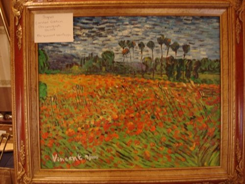 308: Van Gogh Signed Limited Edition Oil on Canvas