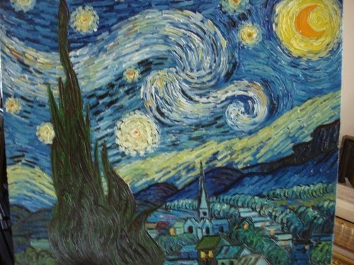 340: Signed Limited Edition Oil on Canvas by Van Gogh