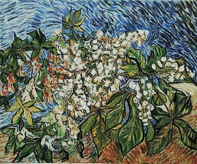 "5: ""Blossoming Chestnut Branches"" Van Gogh"