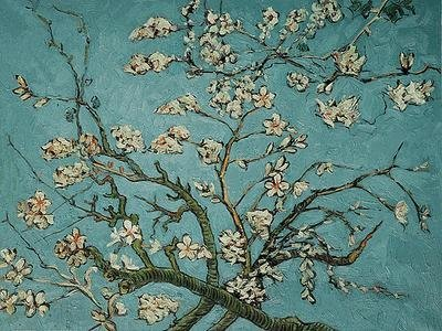 "6: ""Branches of an Almond Tree in Blossom"" Van Gogh"
