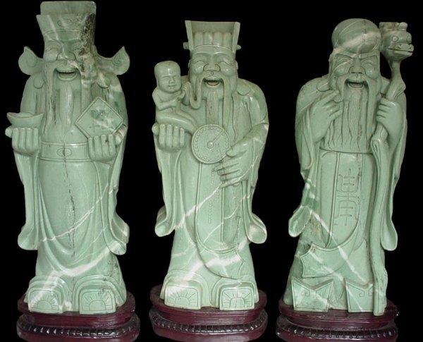 10: Large Jade 3 Wisemen