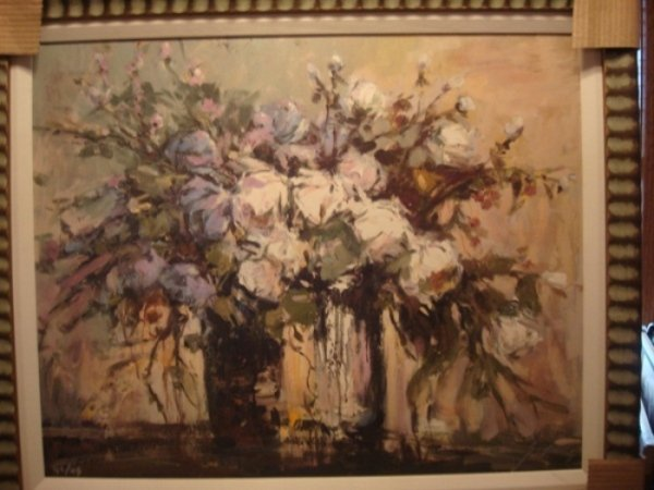 "19: Michael Schofield ""Floral I"" Sgnd Ltd Ed Giclee"