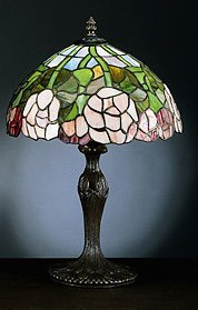 5: Attributed to Tiffany Rose Lamp