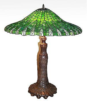 8: Attributed to Tiffany Fern Lamp