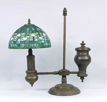 24: Attributed to Tiffany Cantilever Lamp