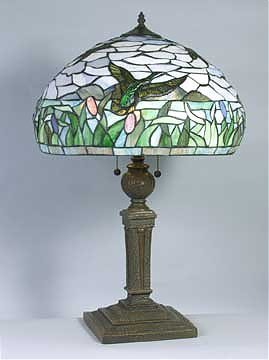25: Attributed to Tiffany Duck Lamp