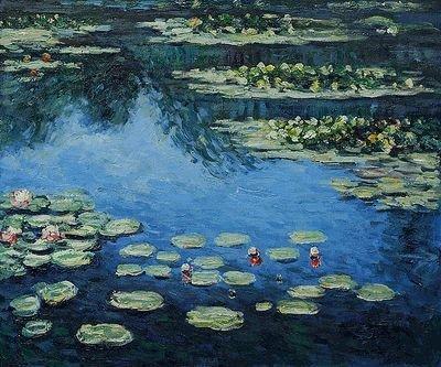 5: Monet - Water Lilies