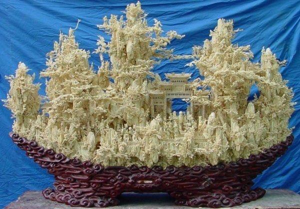 11: Huge Antique Bone Fairies Mountain