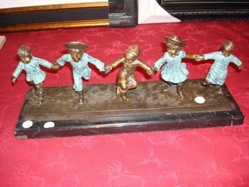 102: Bronze Children by Moreau
