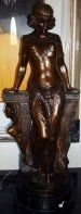 13: Bronze Sculpture Egyptian Renee by Sleyter