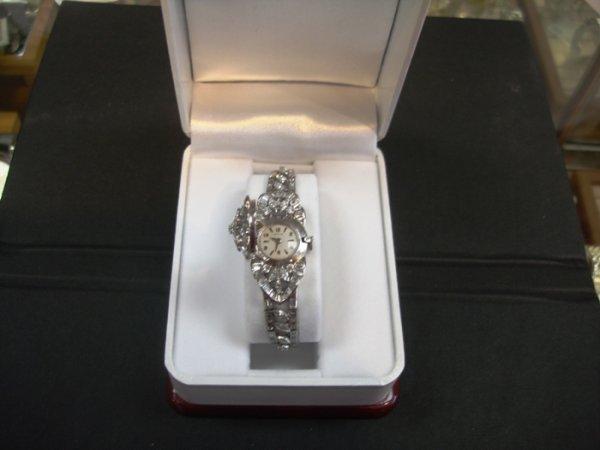 717: Platinum Hamilton Antique Watch