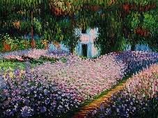 712: Monet - Artist's Garden at Giverny 20x24