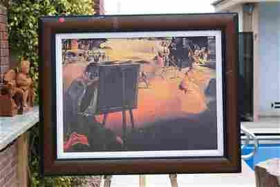 1: Dali - Impression of Africa 20x26