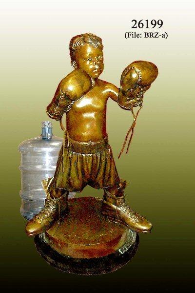 4: Bronze Large Boxing Boy