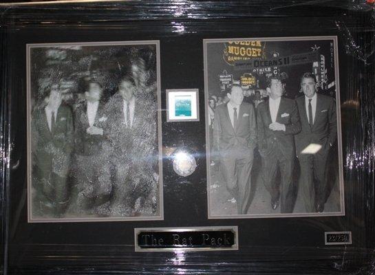 5: Framed Ltd. Ed. Double Photo of The Rat Pack