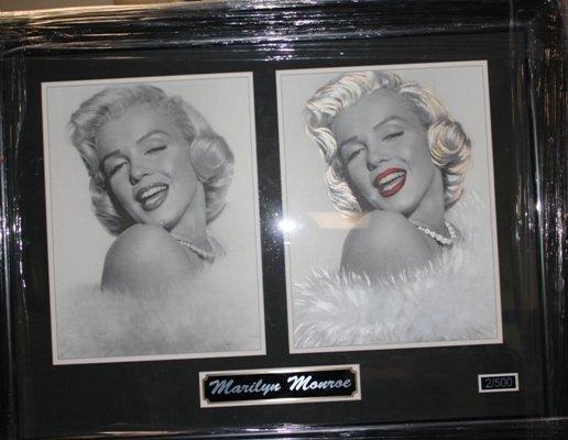 6: Framed Ltd. Ed. Double Photo of Marilyn Monroe