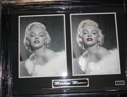 7: Framed Ltd. Ed. Double Photo of Marilyn Monroe