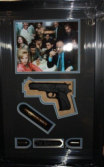 8: Framed Sopranos Collage