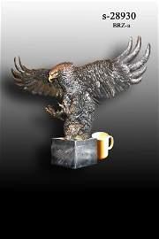 49: Bayre - Bronze Eagle on Marble Base