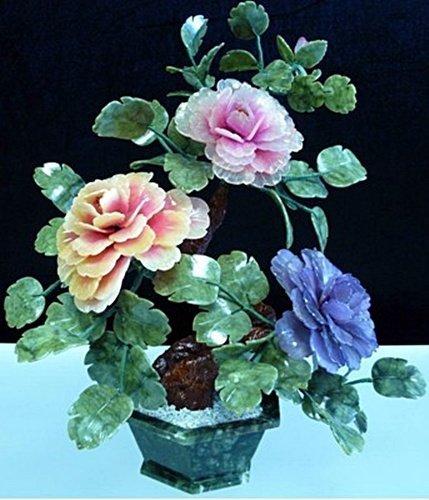 1V: MIXED JADE BONSAI FLOWERS (201-3A)