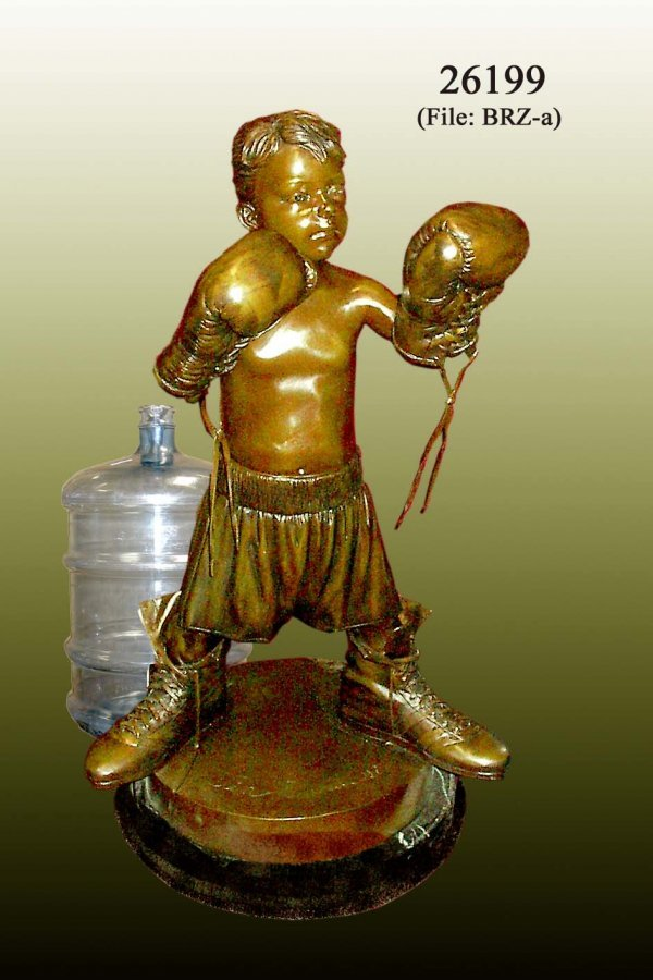 2A: Davidson - Bronze Boxing Boy