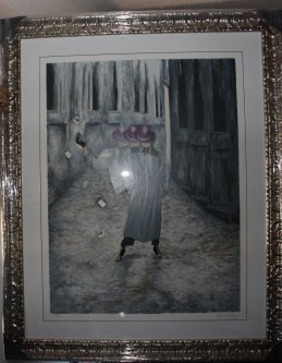 1B: Hand Signed #'d Lithograph Allens