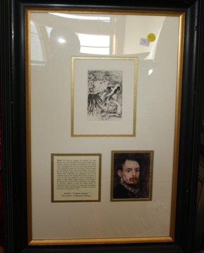 1F: Renoir Posthumous Etching