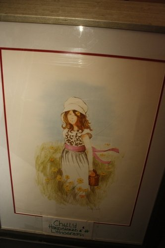 1G: Hand Signed #'d Lithograph Chelly