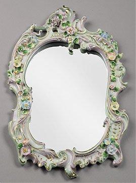 1: Meissen Style Mirror