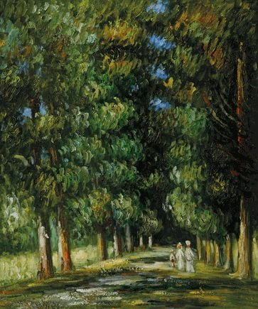 1K: Renoir - Avenue Through The Undergrowth