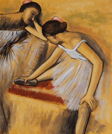 3K: Degas - Dancers in Repose