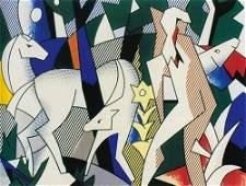67: Lichtenstein Ltd. Ed. Lithograph