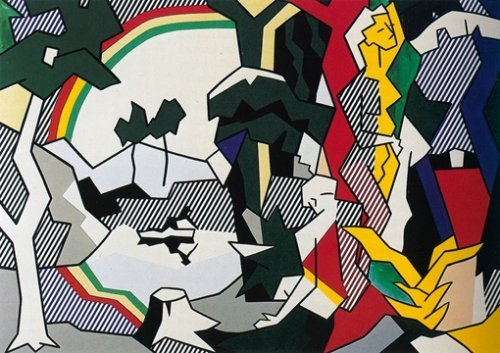 72: Lichtenstein Ltd. Ed. Lithograph