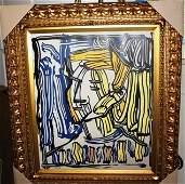 105B Ltd Ed Giclee Lichtenstein Portrait