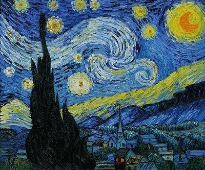 3: Van Gogh - Starry Night