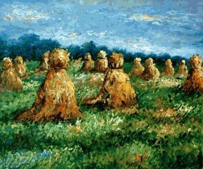 1A: Monet - The Haysheaves