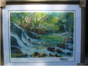 1J: 371: Signed Limited Edition Giclee by Schofield