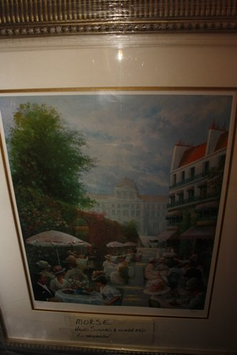 Hand Signed #'d Lithograph Morse