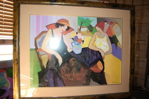3A: Signed Tarkay Lithograph Relationship